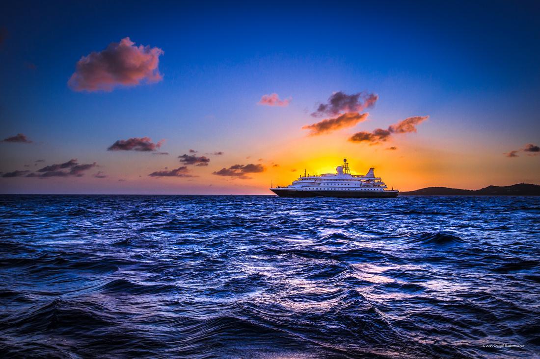 Sea Dream Sunset image by Craig E Rademacher 2015