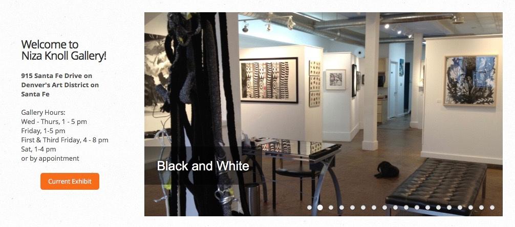 Niza Knoll Gallery in Denver